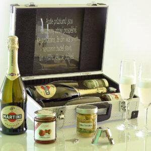 darčekový kufor